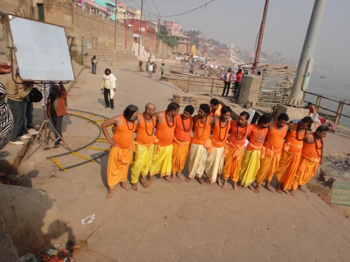 交錯生死的恆河巧遇印度mv拍攝