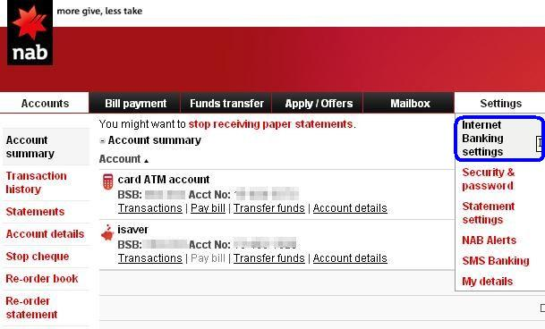 how to change daily limit for banking scotia