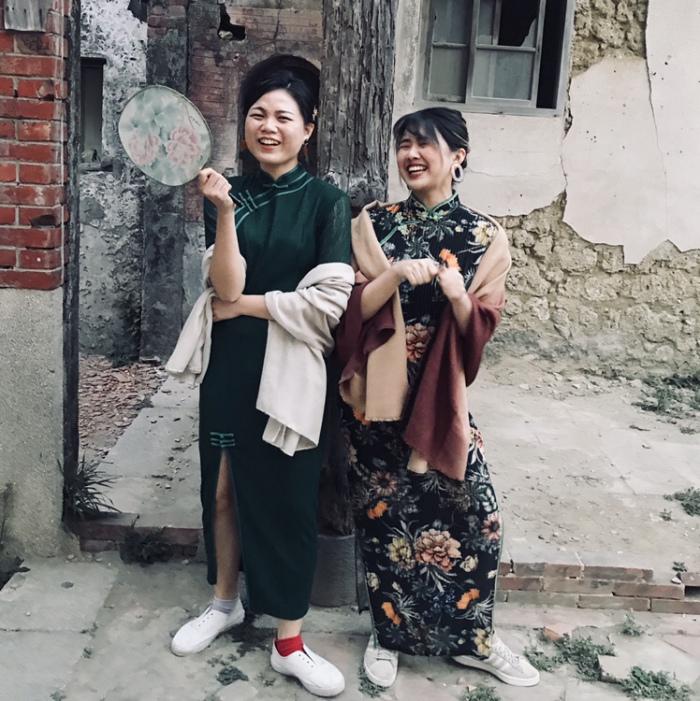2018台南。旗袍旗跑 体验 简短分享
