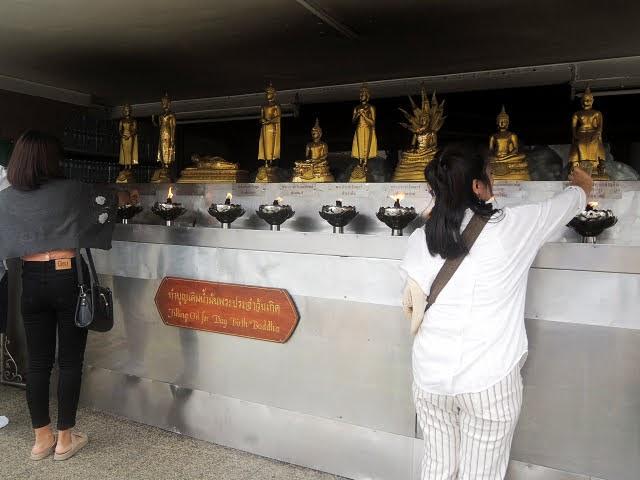 冷門曼谷 -3 玉佛寺對面的國柱神廟 Lak Muang
