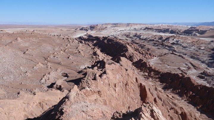 Chile Trip 2019- Atacama (阿塔卡馬) Valle de la Luna (月亮谷)的龍脊與Valle de Marte (火星谷)上綺麗日落