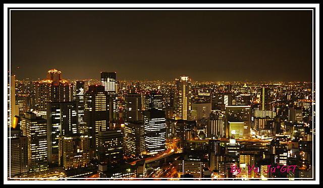 2011.09*分享日本美麗夜景*六甲山*梅田空中庭園展望台