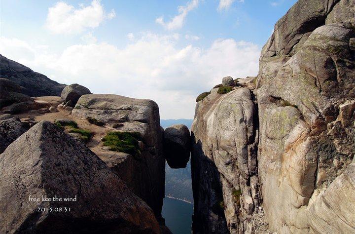 驚嚇指數百分百,一生一次就夠了-超級無敵可怕但值得一去的奇蹟岩 Kjeragbolten (Kjerag)