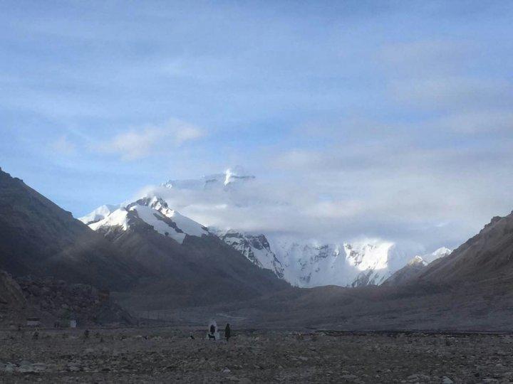 西藏珠穆朗瑪峰前進基地營