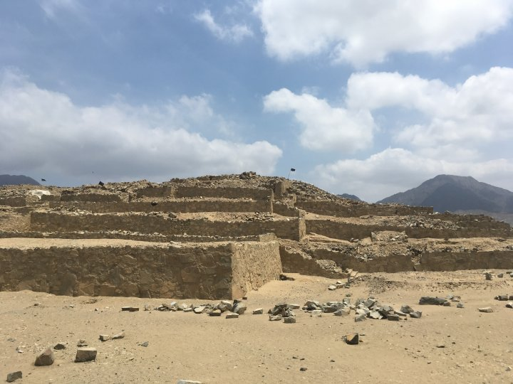Caral - over 5,000 years pyramid