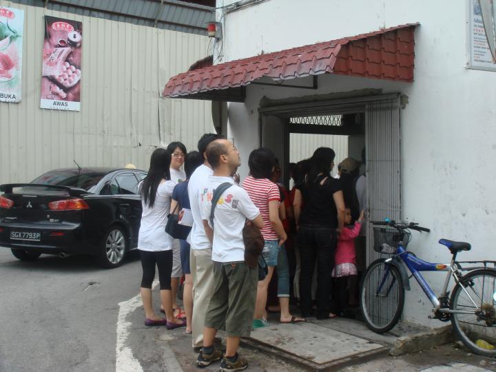 正宗海南雞飯 in Malacca, Malaysia
