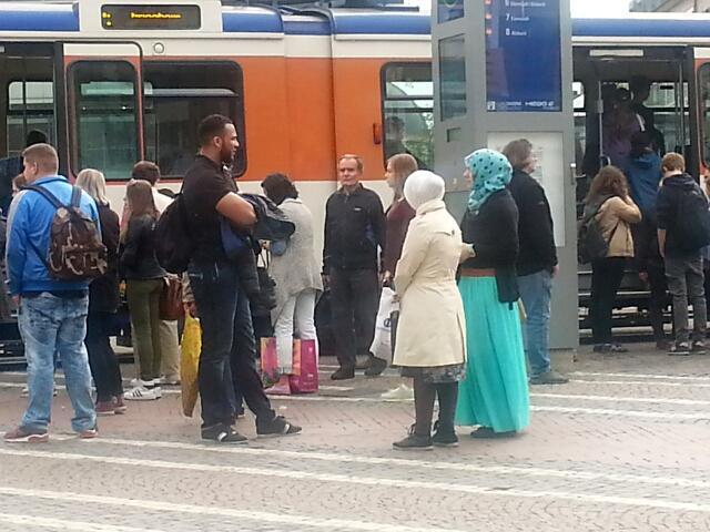 在德国拍的土耳其女与土耳其蓝