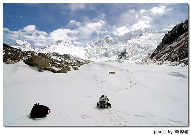 米堆冰川~中國最美的冰川