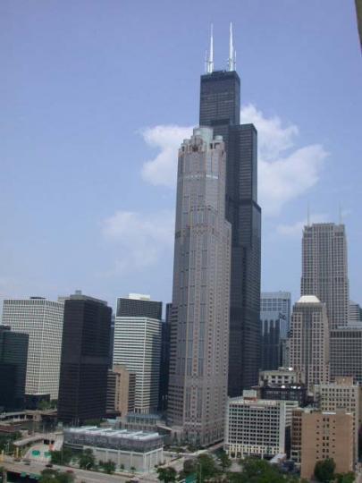 芝加哥-鶴立雞群Sears