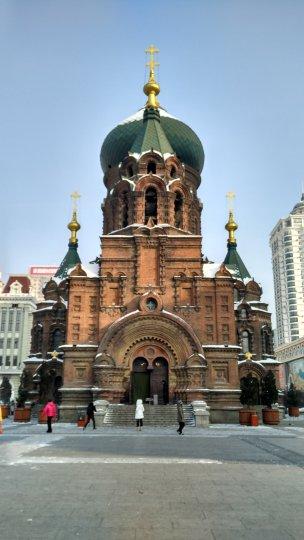 哈爾濱(聖·索菲亞教堂)
