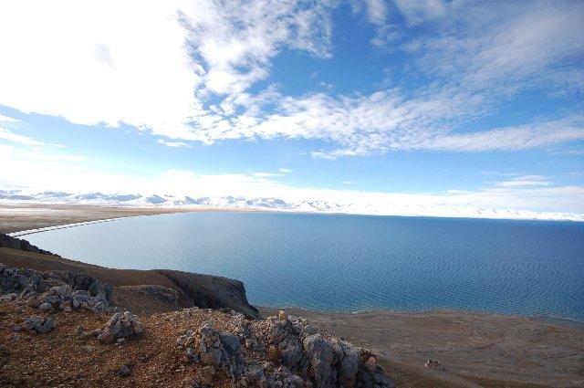 納木錯 (世界最高的鹹水湖,海拔4718米)