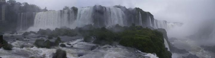夢境般的巴西伊瓜蘇大瀑布