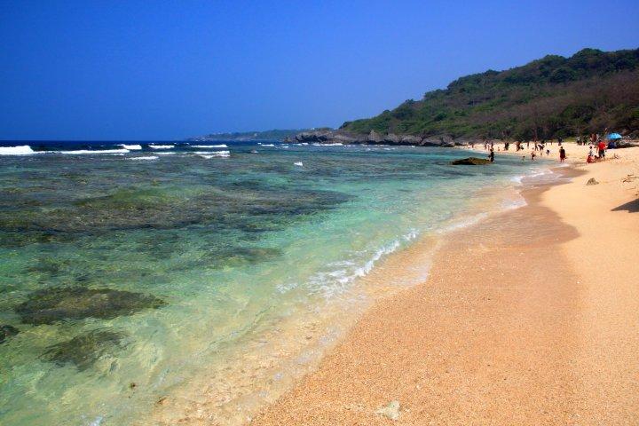 小琉球蛤板灣