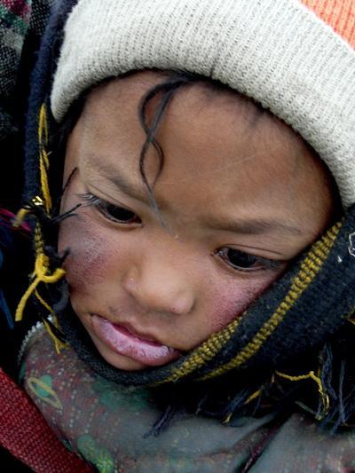 西藏-在定日縣山口遇到的他