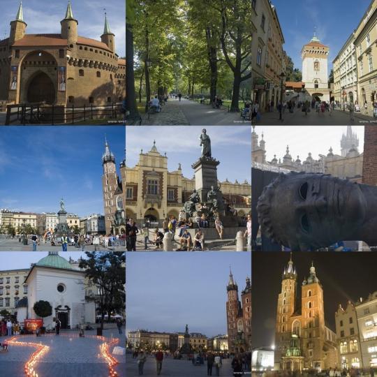 Krakow old town 克拉科夫老城~ 世界遺產