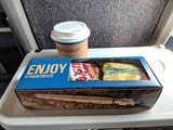 Amtrak Pacific Surfliner #777  Business class (afternoon snack)