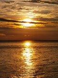 小停泊岛 Coral Bay 日落